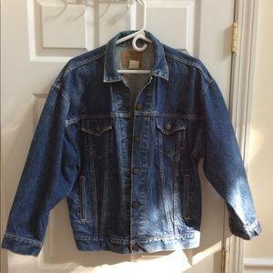 "Levi's 80""s oversize trucker denim jacket"